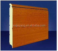 sectional garage door panel