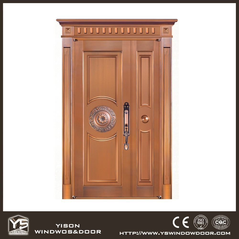 Unequal Double Copper Door Luxury Front Door Design Buy Luxury Front Door D