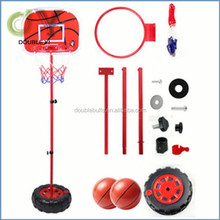Custom Height Adjustable Portable Basketball System, 44 Inch Backboard , portable basketball stand
