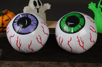 Hot selling Inflatable eyes ball Halloween toys inflatable beach ball
