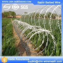 Metal Iron Fence Spikes Perimeter Security Wire Railway Security Equipment