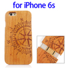 Factory Price Various Designs Bamboo Wood Case for iPhone 6s