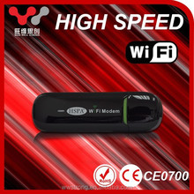 Wireless OEM GSM 7.2mbps portable USB 3g wifi router sim card