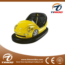 Children, adult, family and couples love electric bumper antique cars for amusement parks