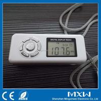 Auto Scan Digital FM Portable Alarm Clock Radio with Headphone Jack