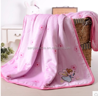 baby blankets/flannel blanket/super soft and thick soft touch blanket