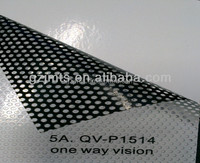 High Quantity Window Glass Sticker One Way Vision, flex vinyl laminate