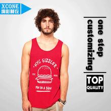 Bodybuilding Gym Singlet/ Stringer Vests/ Plain cotton gym tanktops