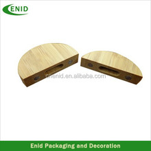 Round Wood Cover For U Disk