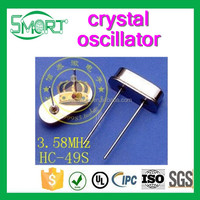 Smart Bes 3.579545M 3.58M HC-49S DIP Passive Crystal oscillator 3.58MHz crystal and electronic component