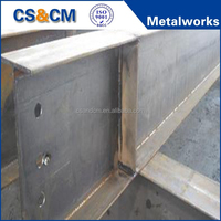 structural steel beam H beam / I beam price steel/ steel beam fabrication