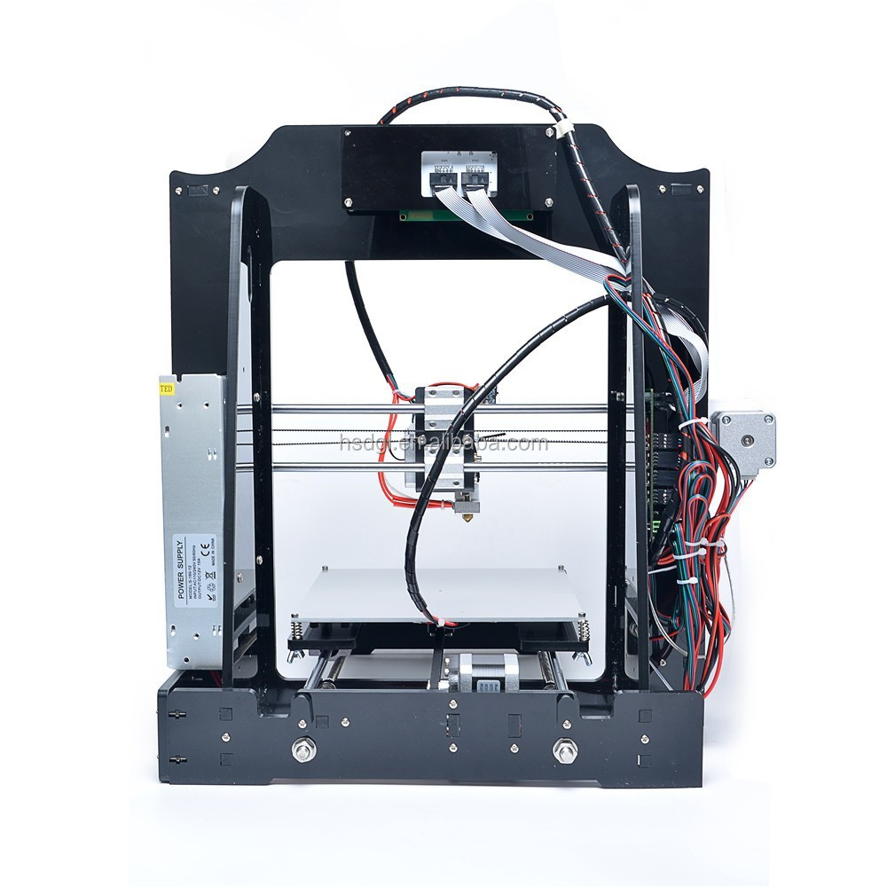 Desktop diy prusa i arduino d printer kit made in china