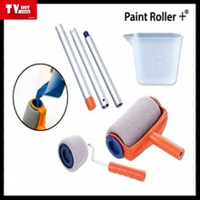 household paint runner/portable 6 items paint roller/paint brush / runner brush as seen on tv