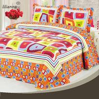 2015 new design patchwork quilt in luxury hotel bedding set