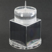 Solar marine navigation signal light