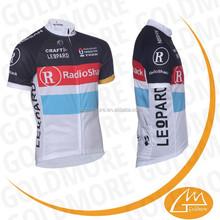 GOLDMORE2 RADIO SHACK New team cube Cycling Jerseys Bike Jersey + cycling Short Bib Sets cube Men's sports riding Suit bicy