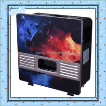 Glass Panel Gas Heater with oxygen depletion sensor flame-failure adjustable thermostat freestanding CE
