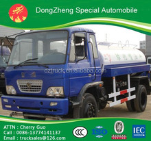 Dongfeng 4*2 chassis 6T WATER TANK TRUCK