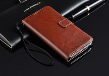 FL376 wallet in dark cognac handmade sleeve cover credit cards slots for galaxy note 3 N9000