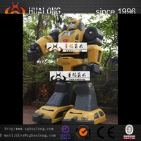 3 meter high Bumblebee transformer figure