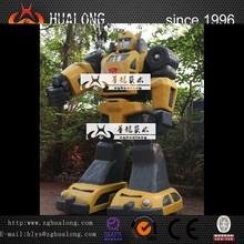 3 meter high Bumblebee transformer figure