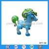 Painting inflatable PVC horse toy for kids