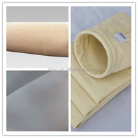 Aramid base fabric for heat resistant filtration