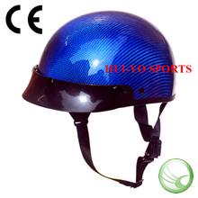 Half shell dot helmet, Carbon motorcycle helmet, SNELL open face helmet