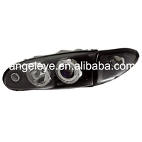 For PROTON Wira LED Angel Eyes Head Lamp 1992 Year YZ