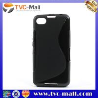 S Shape TPU Case for BlackBerry A10 Aristo Z30