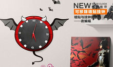 CT-393 Creative 3D DIY wall stickers wall clock