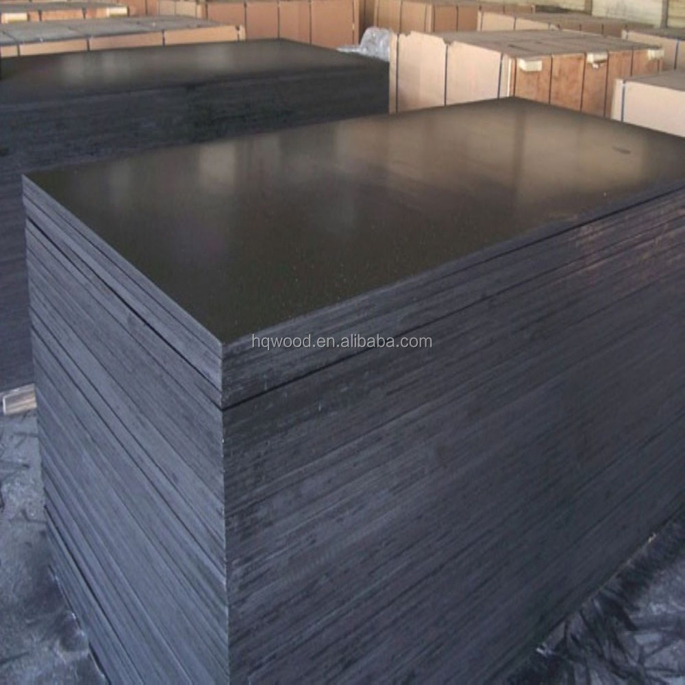 Building template film faced plywood concrete form