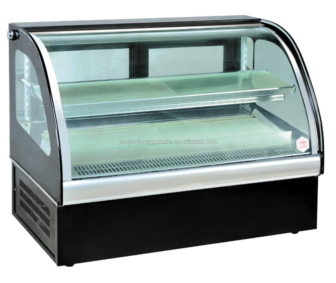 Mini Display Freezer Showcase Freezer For Restaurant