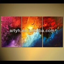Handpainted Art Painting Custom Colorful Home Fine Picture