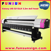 New ! Galaxy UD-3212LD 3.2m ceiling film printing dx5 / dx7 head eco solvent printer ( 1440dpi ,promotion price )