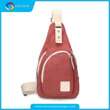 Ajustable strap durable canvas messenger cross body shoulder bag