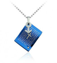 1120103 The new religious ornaments engraved with the bible MP3 pendant retro necklace
