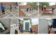 Easy Assembling economic container house shop