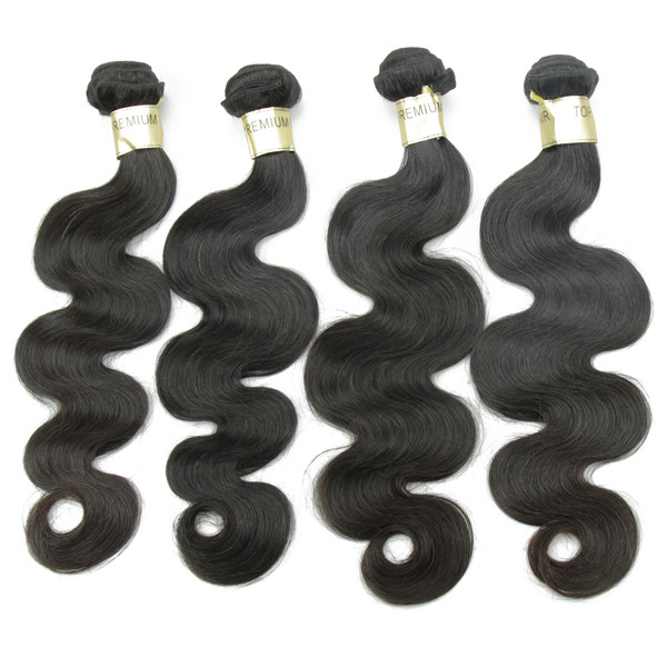 JP populaire cheveux type de Indien vague de corps de cheveux pour les femmes noires