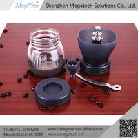 stainless steel burr coffee grinder and industrial coffee bean grinder
