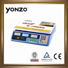Colorato yz-967 alloggiamento elettronica digitale prezzo di calcolo scala meccanica