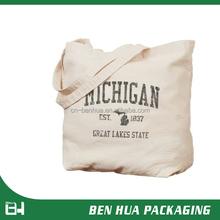 High Quality Fashion Reusable Shopping Cotton Bag