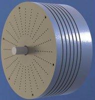 7 kW at 760 RPM Permanent Magnet low speed generator alternator for wind turbine.