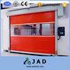 Orange color plastic curtain high speed door, fast roll up door