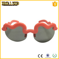 circular polarized 3d video glasses for sale