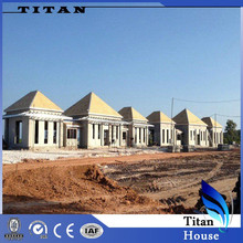Low Cost Light Steel Prefabricated Town Houses