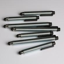 Good writing instrument aluminum ball pen spiral shape holder