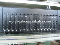 2015 catv factory Wolck WM-860MA 16 in 1 PAL B/G agile Channel cable Modulator china factory with cheap price