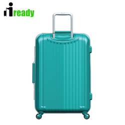 blue color travel carry-on luggage unique travel luggage