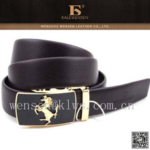 Top selling HIGH QUALITY mens belt automatic kalewensen brand name
